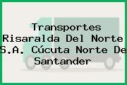 Transportes Risaralda Del Norte S.A. Cúcuta Norte De Santander
