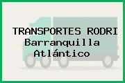 TRANSPORTES RODRI Barranquilla Atlántico