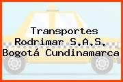 Transportes Rodrimar S.A.S. Bogotá Cundinamarca