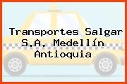 Transportes Salgar S.A. Medellín Antioquia
