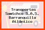 Transportes Samtchco S.A.S. Barranquilla Atlántico