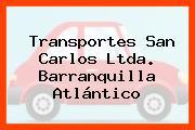 Transportes San Carlos Ltda. Barranquilla Atlántico