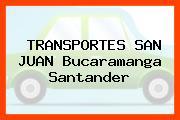 TRANSPORTES SAN JUAN Bucaramanga Santander
