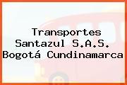 Transportes Santazul S.A.S. Bogotá Cundinamarca
