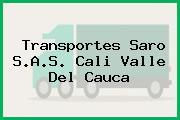 Transportes Saro S.A.S. Cali Valle Del Cauca