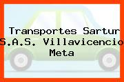 Transportes Sartur S.A.S. Villavicencio Meta