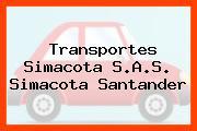 Transportes Simacota S.A.S. Simacota Santander