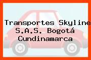 Transportes Skyline S.A.S. Bogotá Cundinamarca