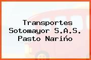Transportes Sotomayor S.A.S. Pasto Nariño