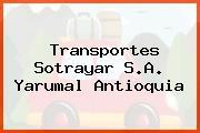 Transportes Sotrayar S.A. Yarumal Antioquia