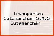 Transportes Sutamarchan S.A.S Sutamarchán