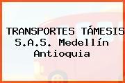 TRANSPORTES TÁMESIS S.A.S. Medellín Antioquia