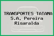 TRANSPORTES TATAMA S.A. Pereira Risaralda