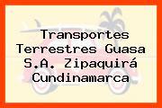 Transportes Terrestres Guasa S.A. Zipaquirá Cundinamarca