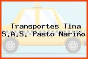 Transportes Tina S.A.S. Pasto Nariño