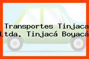 Transportes Tinjaca Ltda. Tinjacá Boyacá