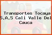 Transportes Tocaya S.A.S Cali Valle Del Cauca