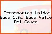 Transportes Unidos Buga S.A. Buga Valle Del Cauca