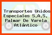 Transportes Unidos Especiales S.A.S. Palmar De Varela Atlántico
