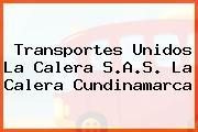 Transportes Unidos La Calera S.A.S. La Calera Cundinamarca