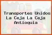 Transportes Unidos La Ceja La Ceja Antioquia