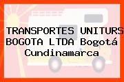 TRANSPORTES UNITURS BOGOTA LTDA Bogotá Cundinamarca