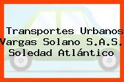 Transportes Urbanos Vargas Solano S.A.S. Soledad Atlántico