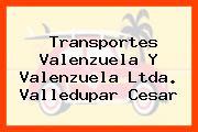 Transportes Valenzuela Y Valenzuela Ltda. Valledupar Cesar