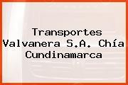 Transportes Valvanera S.A. Chía Cundinamarca