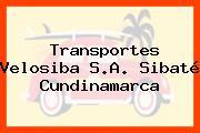 Transportes Velosiba S.A. Sibaté Cundinamarca