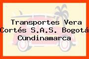 Transportes Vera Cortés S.A.S. Bogotá Cundinamarca