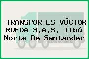 TRANSPORTES VÚCTOR RUEDA S.A.S. Tibú Norte De Santander