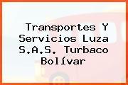 Transportes Y Servicios Luza S.A.S. Turbaco Bolívar
