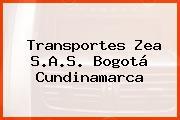 Transportes Zea S.A.S. Bogotá Cundinamarca