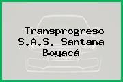 Transprogreso S.A.S. Santana Boyacá