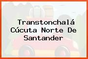 Transtonchalá Cúcuta Norte De Santander