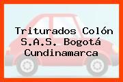 Triturados Colón S.A.S. Bogotá Cundinamarca