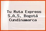 Tu Ruta Express S.A.S. Bogotá Cundinamarca
