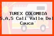 TUREX COLOMBIA S.A.S Cali Valle Del Cauca