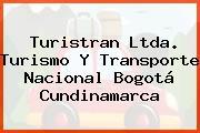 Turistran Ltda. Turismo Y Transporte Nacional Bogotá Cundinamarca