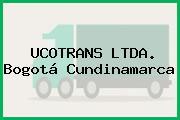 UCOTRANS LTDA. Bogotá Cundinamarca