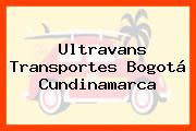 Ultravans Transportes Bogotá Cundinamarca