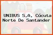 UNIBUS S.A. Cúcuta Norte De Santander