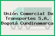 Unión Comercial De Transportes S.A. Bogotá Cundinamarca