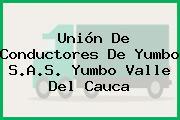 Unión De Conductores De Yumbo S.A.S. Yumbo Valle Del Cauca