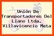 Unión De Transportadores Del Llano Ltda. Villavicencio Meta