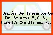 Unión De Transporte De Soacha S.A.S. Bogotá Cundinamarca