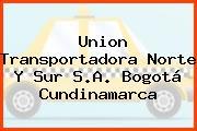 Union Transportadora Norte Y Sur S.A. Bogotá Cundinamarca