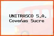 UNITRASCO S.A. Coveñas Sucre