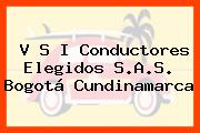 V S I Conductores Elegidos S.A.S. Bogotá Cundinamarca